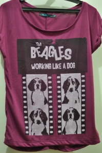 Achei essa uma fofura. The Beagles... e olha só a carinha dessas coisinhas.