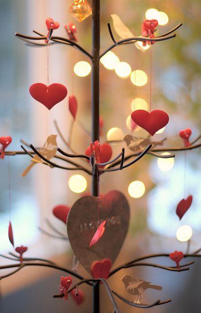 além de corações você pode usar e abusar das luzes indiretas como piscas de natal