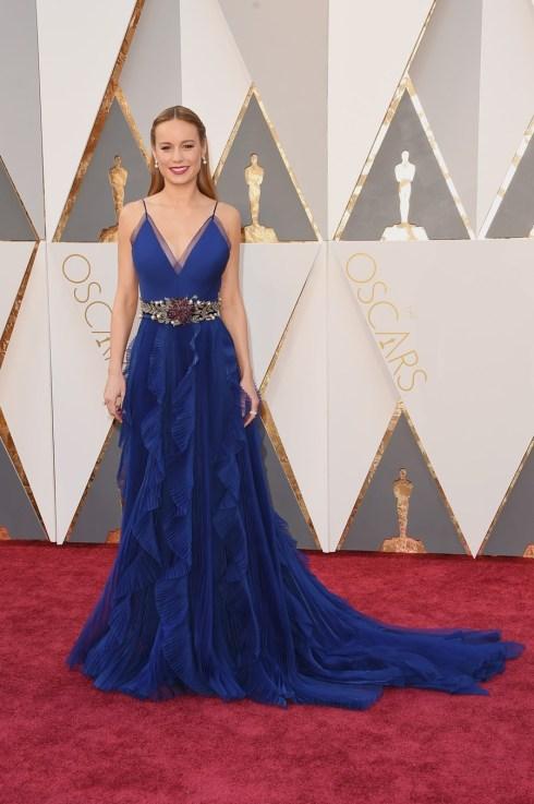 Brie Larson em Gucci
