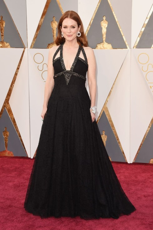 Julianne Moore em Chanel Couture