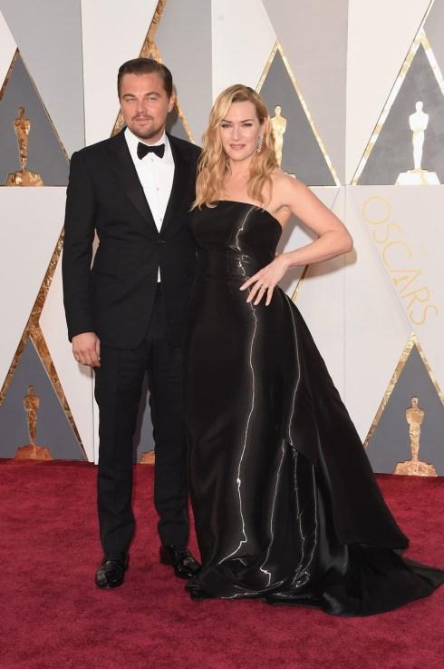Leonardo Dicaprio e Kate Winslet em Ralph Lauren
