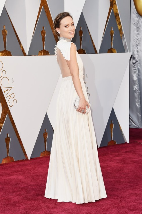 Olivia Wilde em Valentino Couture